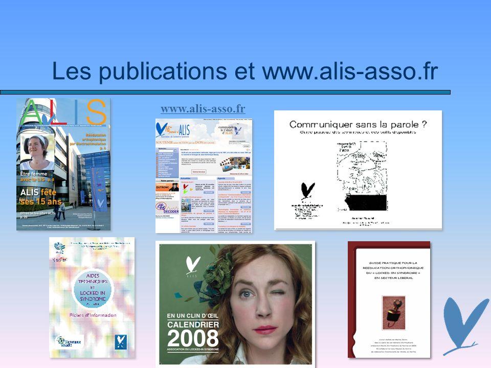 Les publications et www.alis-asso.fr