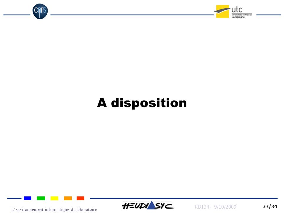 A disposition
