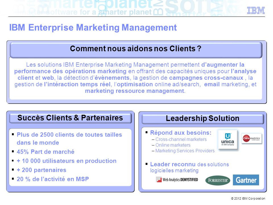 IBM Enterprise Marketing Management