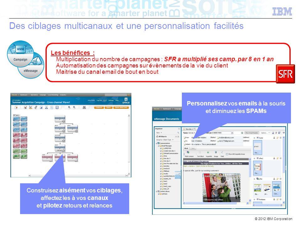 Des ciblages multicanaux et une personnalisation facilités