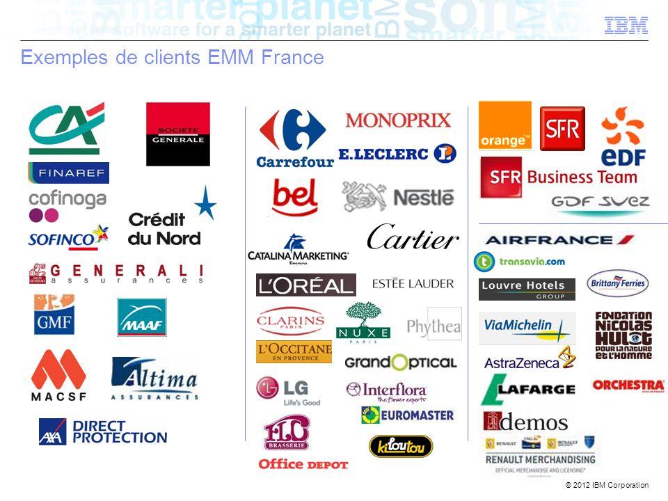 Exemples de clients EMM France