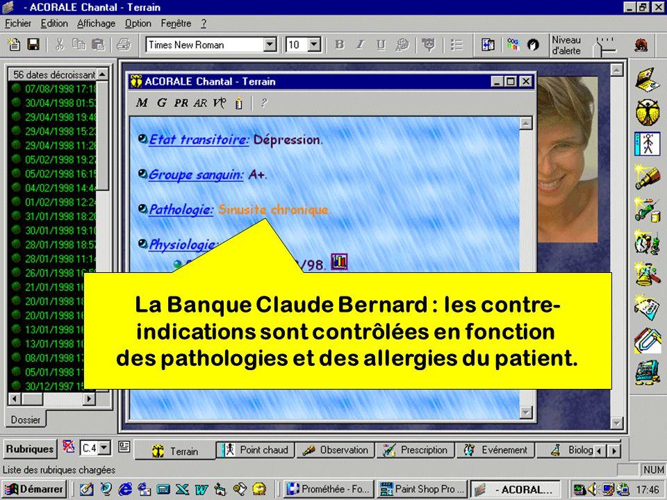 La Banque Claude Bernard : les contre-
