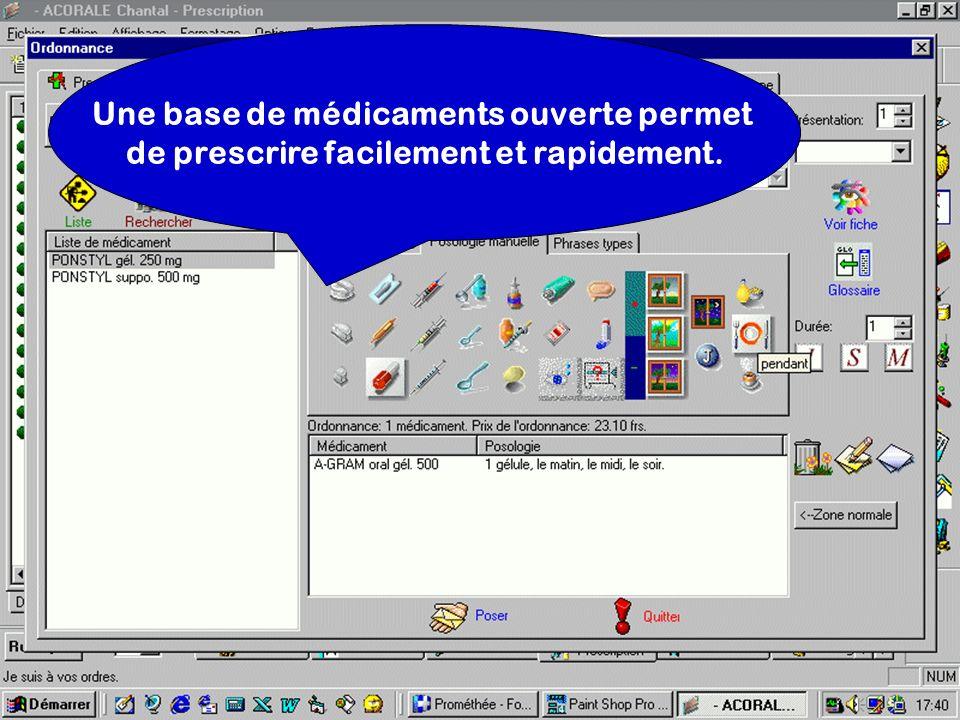 Une base de médicaments ouverte permet