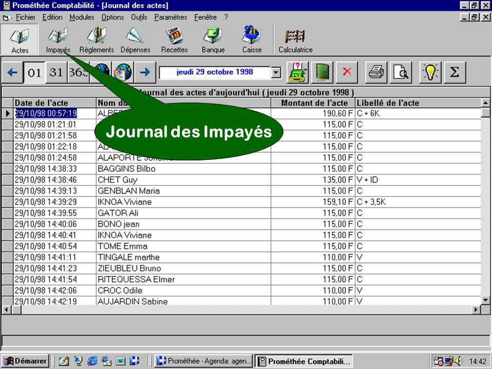 Journal des Impayés