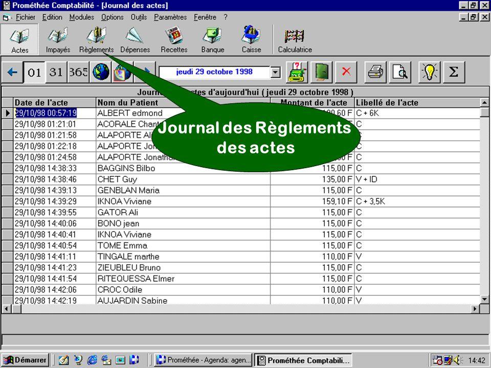 Journal des Règlements