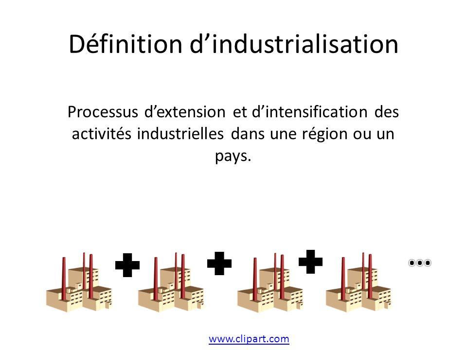Définition d'industrialisation