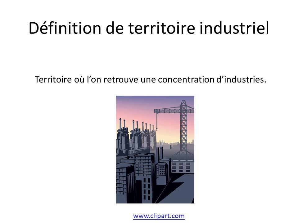 Définition de territoire industriel