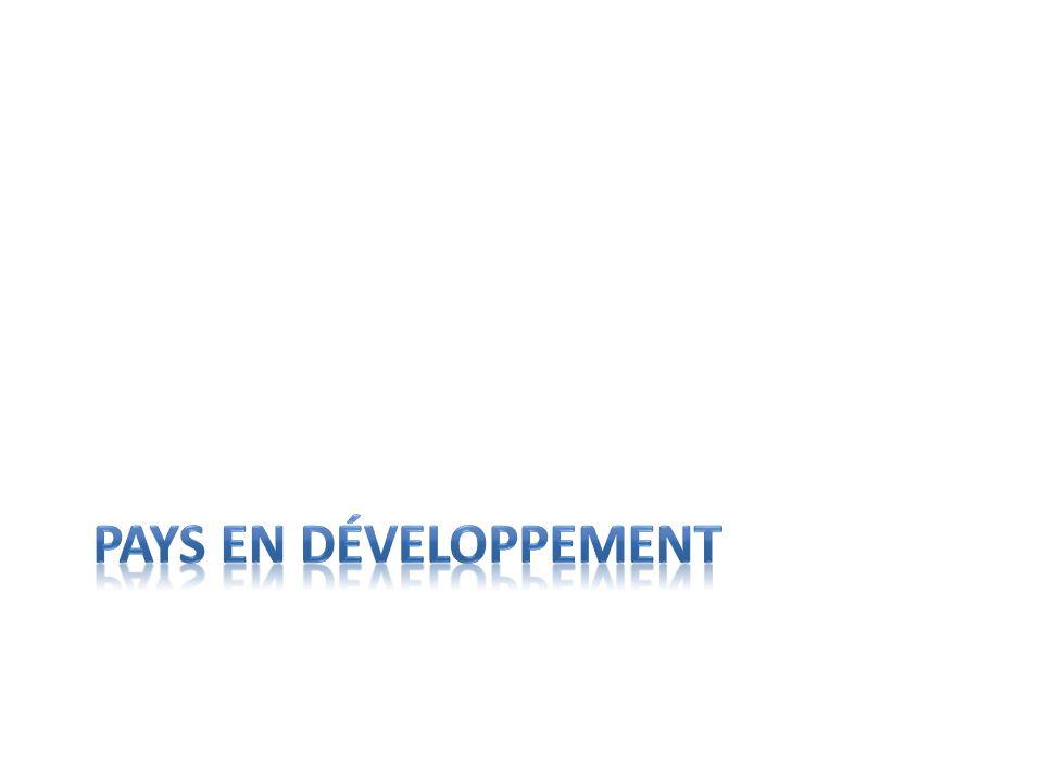 Pays en développement