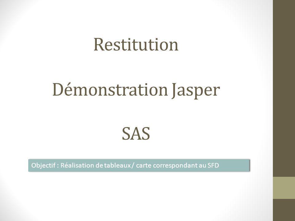 Restitution Démonstration Jasper