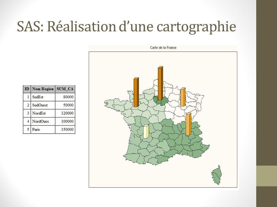 SAS: Réalisation d'une cartographie
