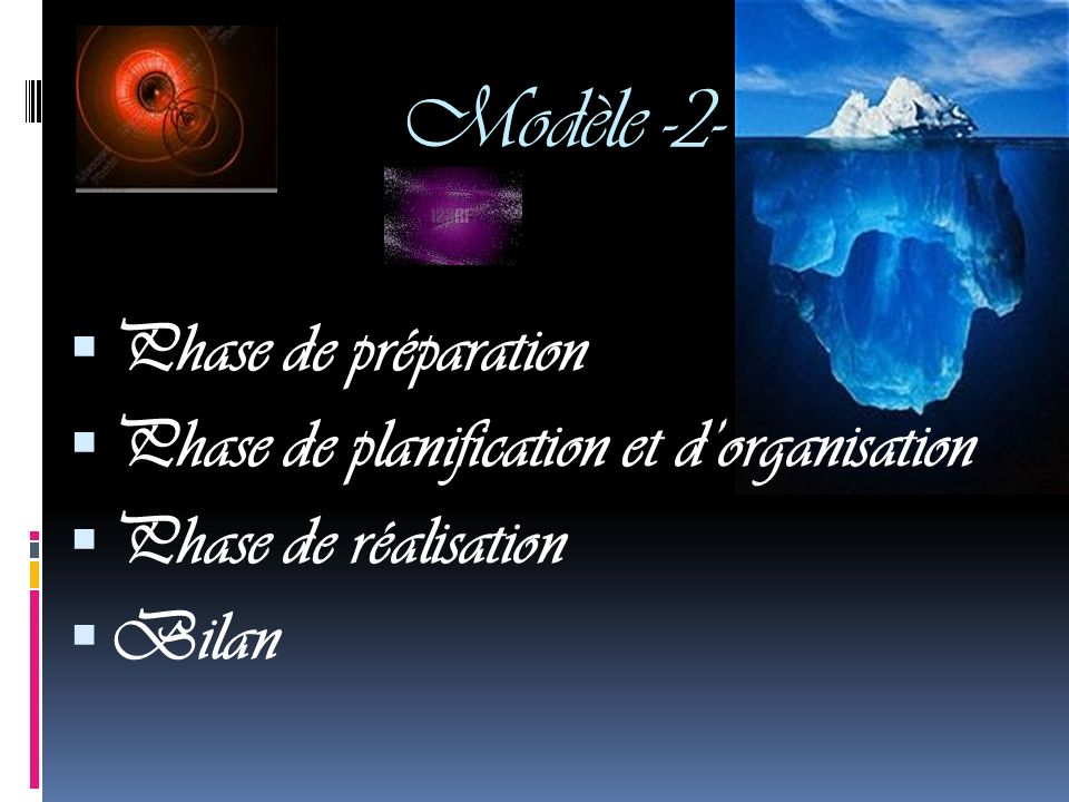 Modèle -2- Phase de préparation