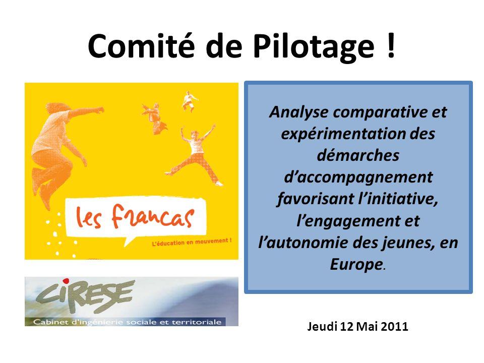 Comité de Pilotage ! Jeudi 12 Mai 2011