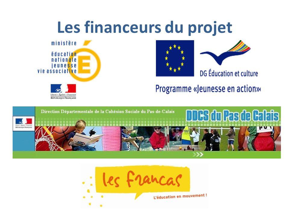 Les financeurs du projet