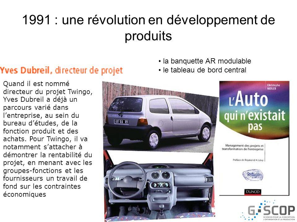1991 : une révolution en développement de produits