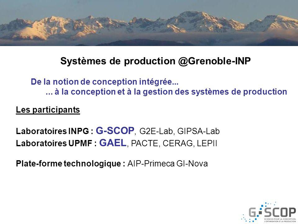 Systèmes de production @Grenoble-INP