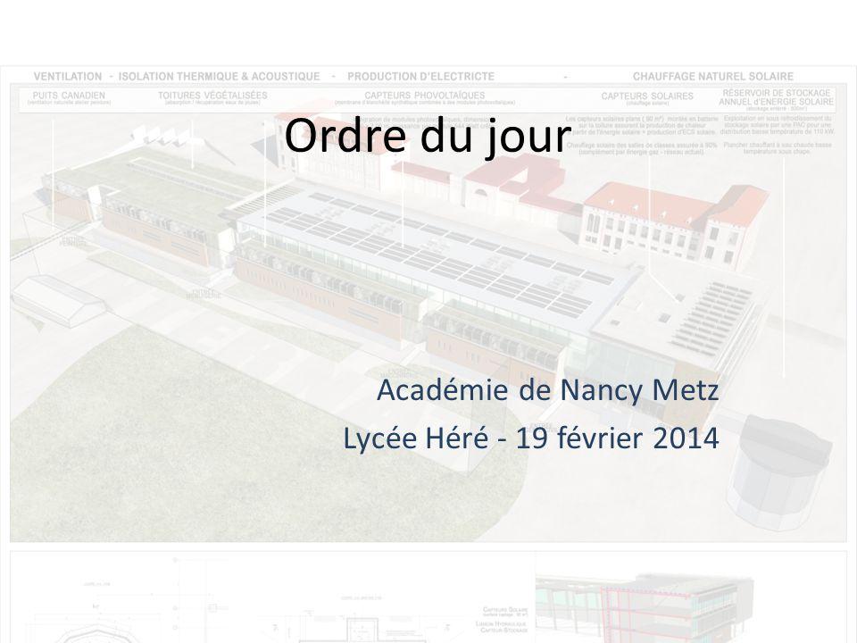Académie de Nancy Metz Lycée Héré - 19 février 2014