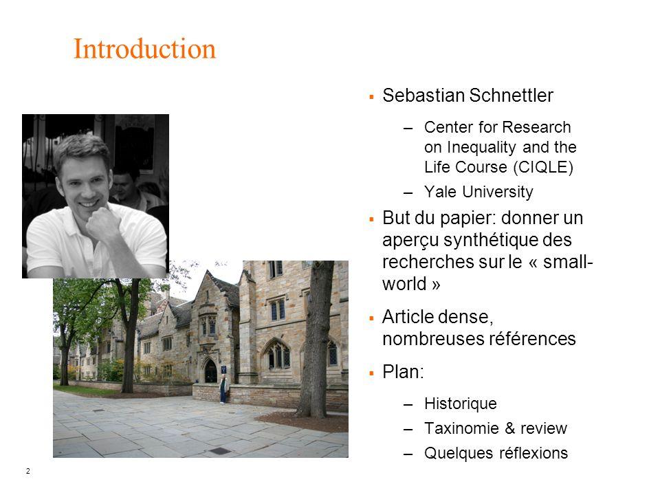 Introduction Sebastian Schnettler