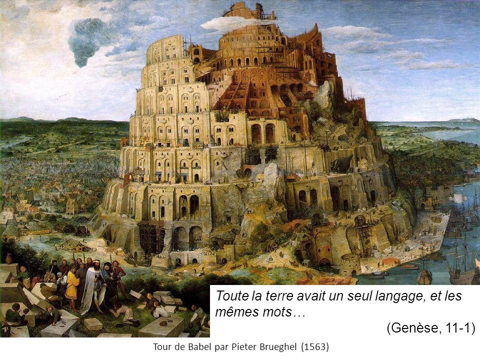 Tour de Babel par Pieter Brueghel (1563)