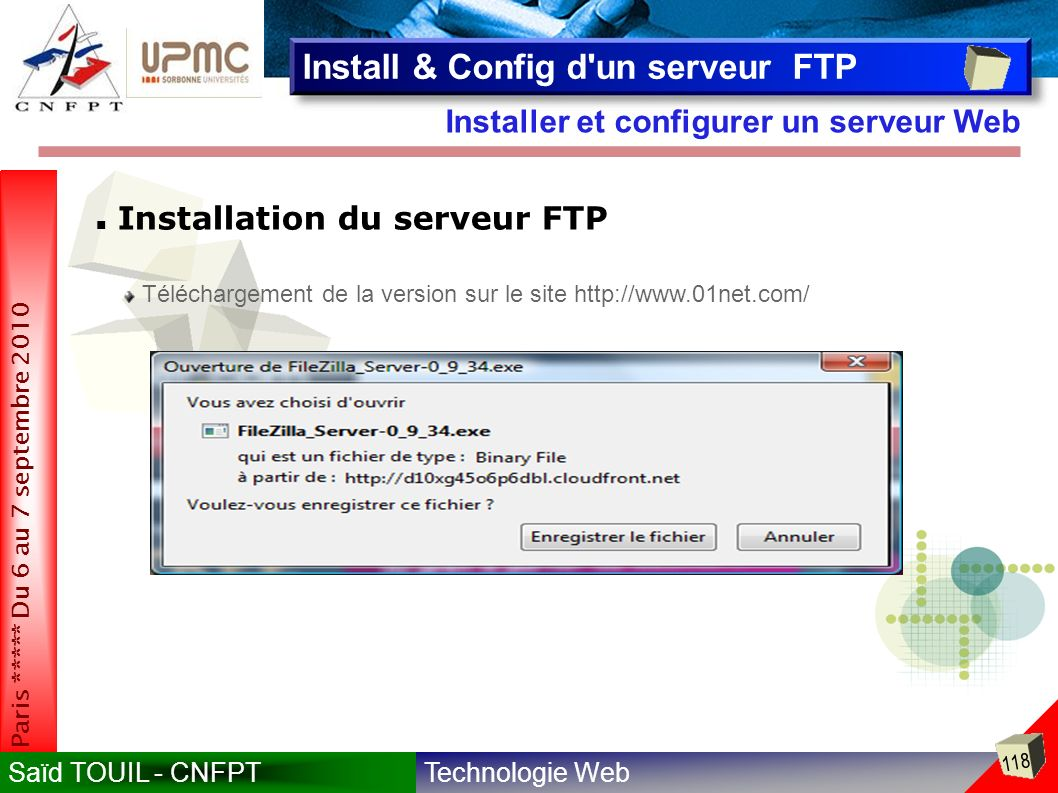Install & Config d un serveur FTP