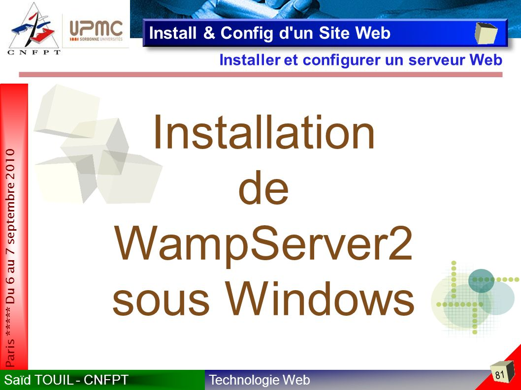 WampServer2 sous Windows