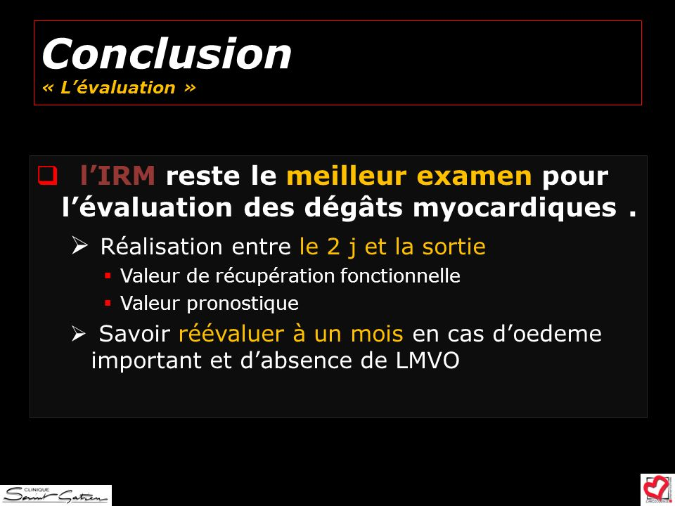 Conclusion « L'évaluation »