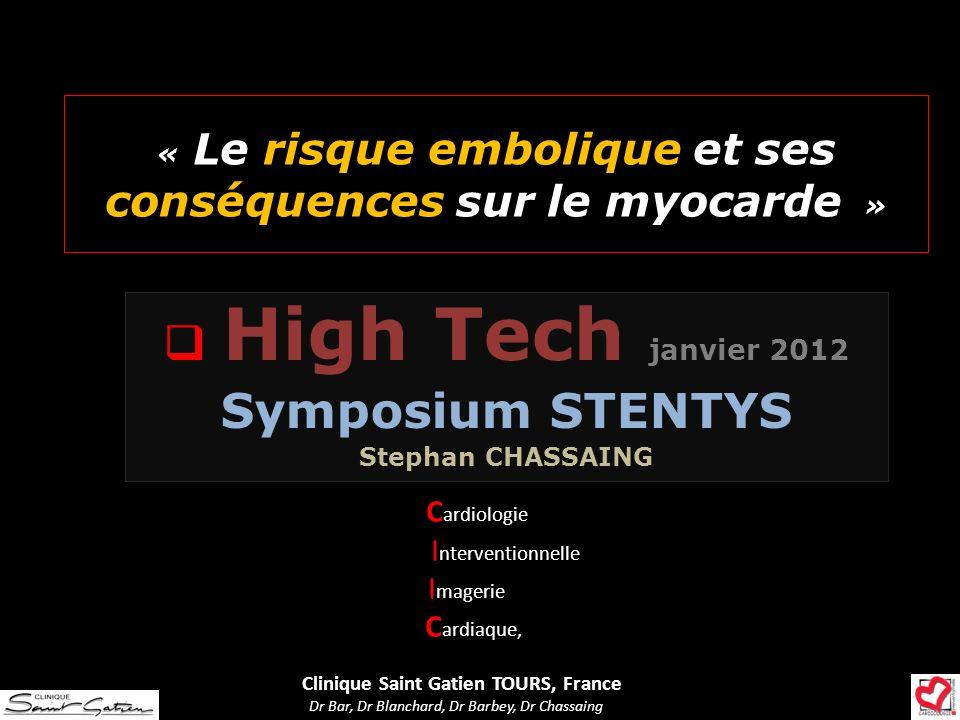 « Le risque embolique et ses conséquences sur le myocarde »