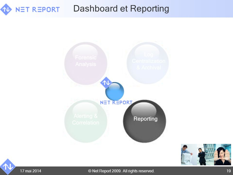 Dashboard et Reporting