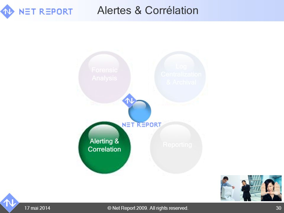 Alertes & Corrélation 31 mars 2017