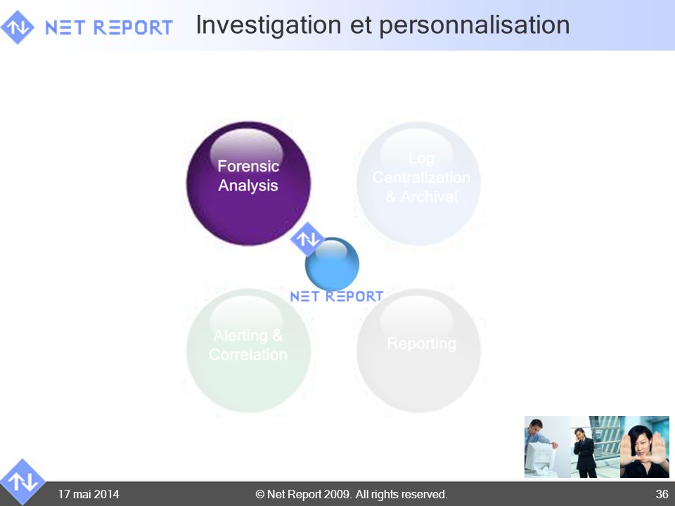 Investigation et personnalisation