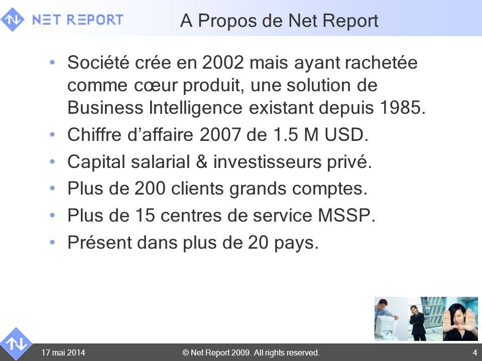 Chiffre d'affaire 2007 de 1.5 M USD.