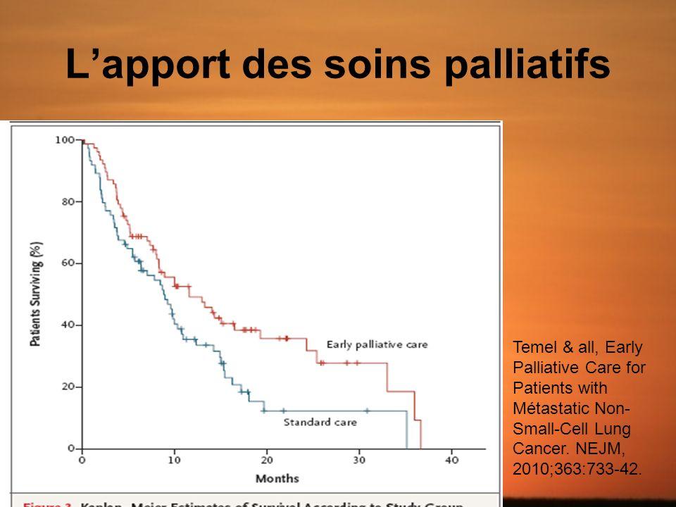 L'apport des soins palliatifs