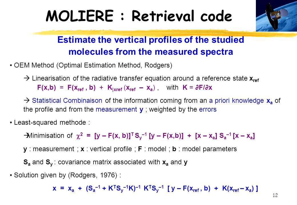 MOLIERE : Retrieval code