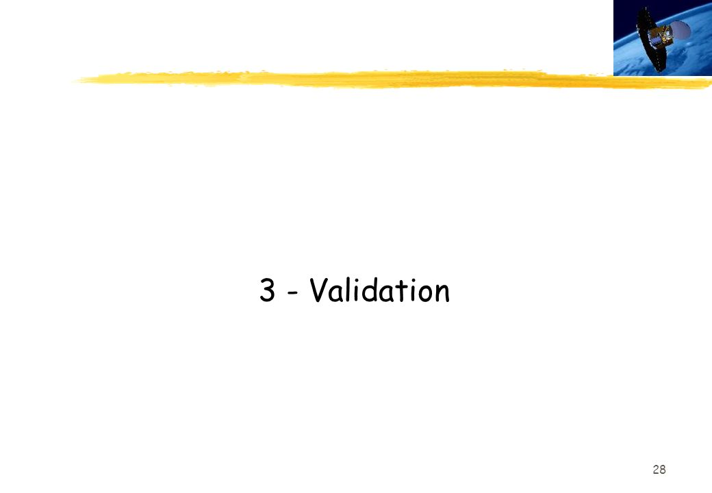 3 - Validation