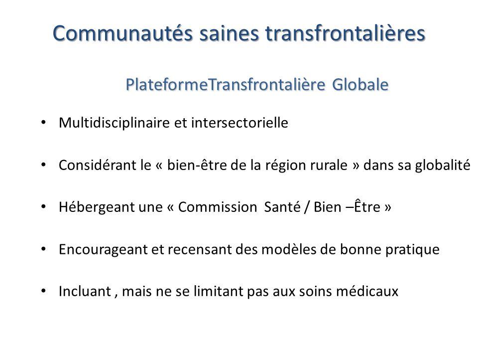 Communautés saines transfrontalières