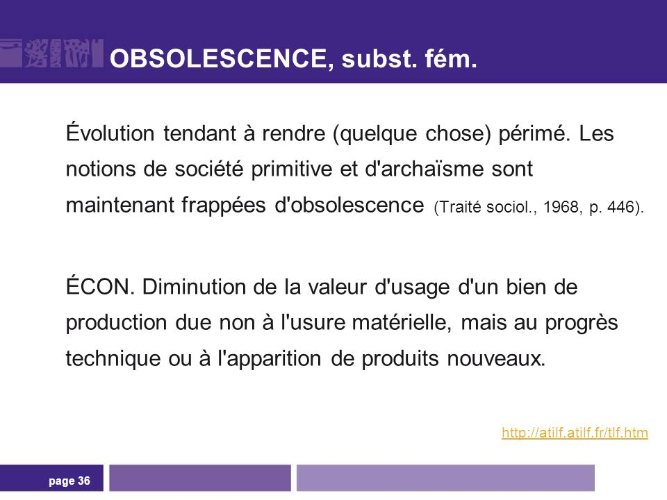 Obsolescence « programmée »