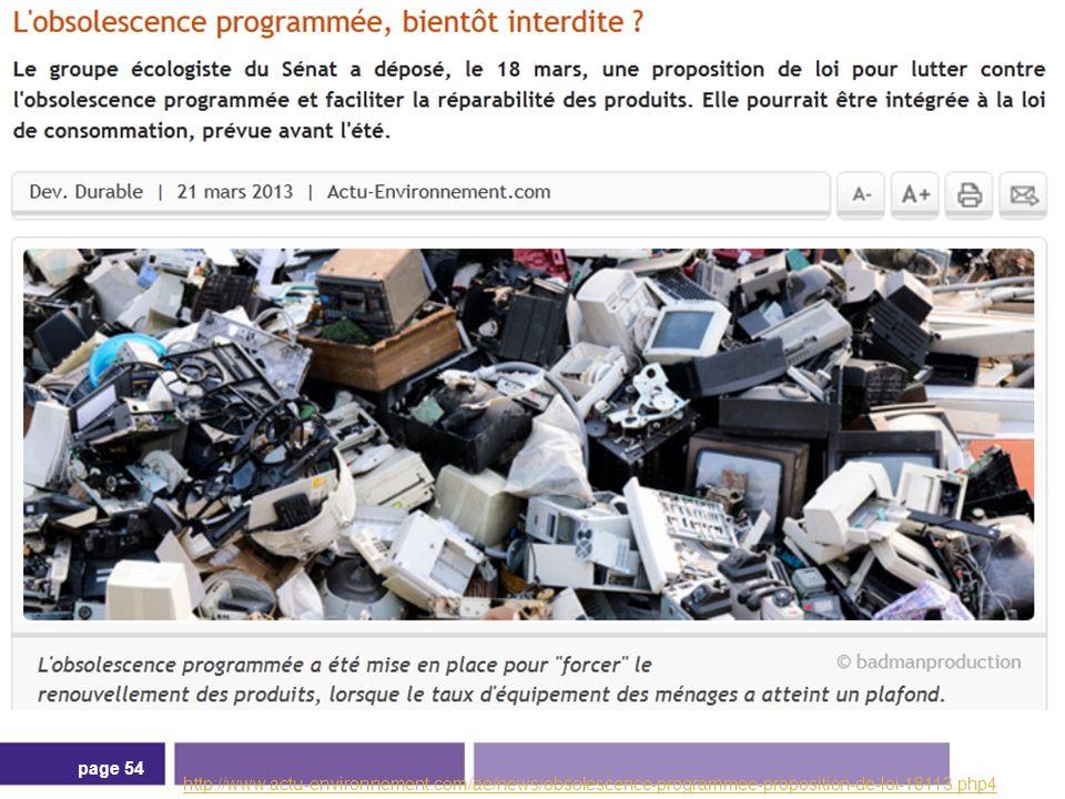 http://www. actu-environnement