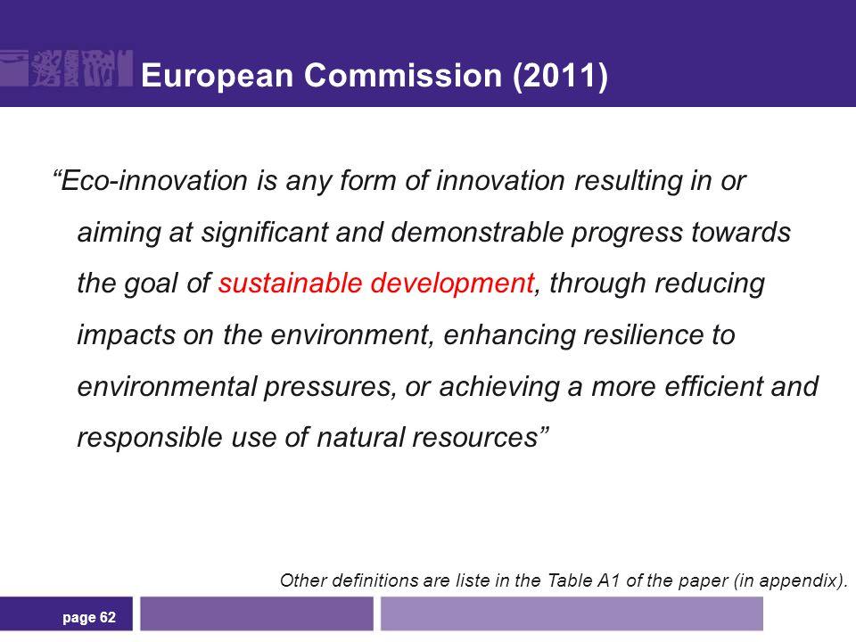 Points communs entre les éco-innovations ... et les autres
