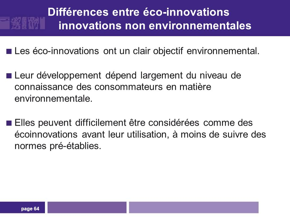 Comment les écoinnovations se produisent-elles