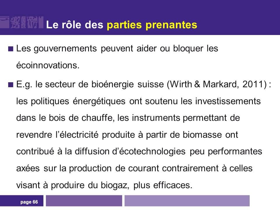 Comment sortir d'écotechnologies sous-optimales