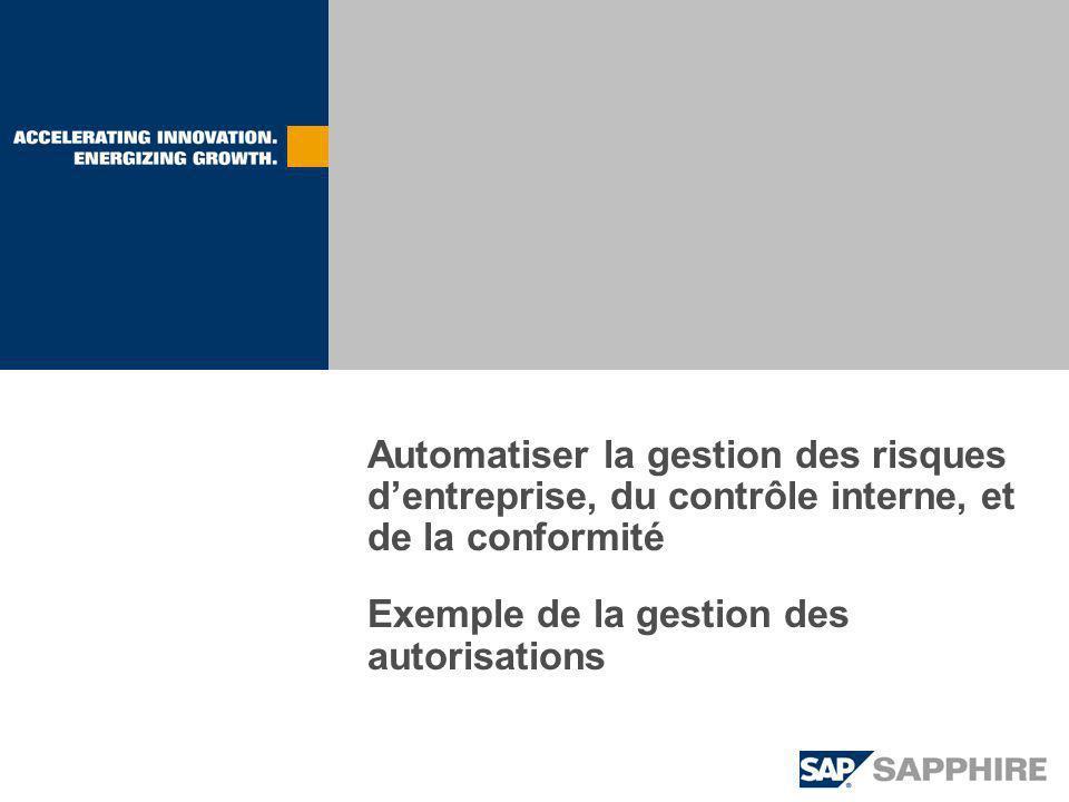 Automatiser la gestion des risques d'entreprise, du contrôle interne, et de la conformité