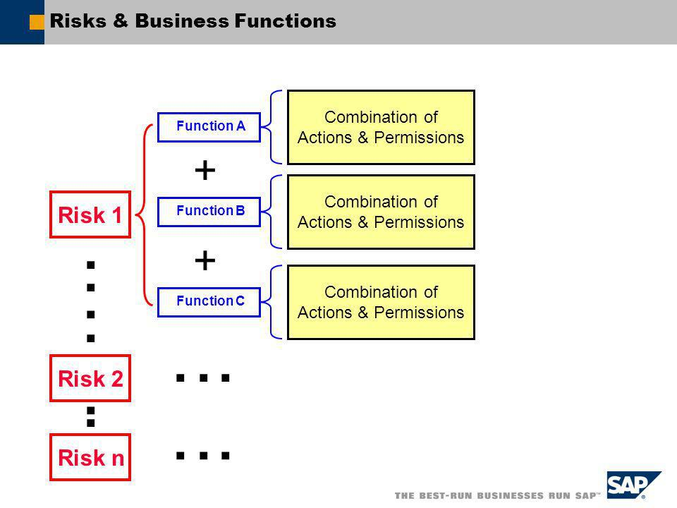 Risks & Business Functions