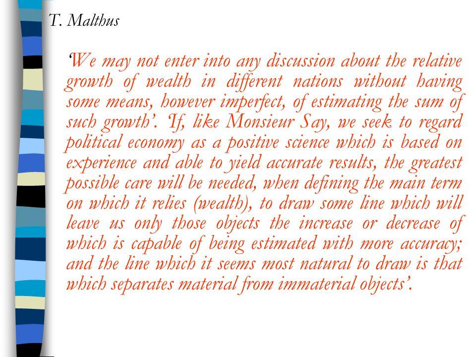 T. Malthus
