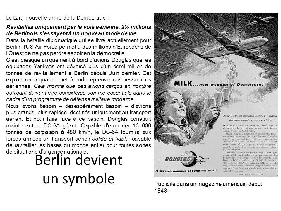 Berlin devient un symbole