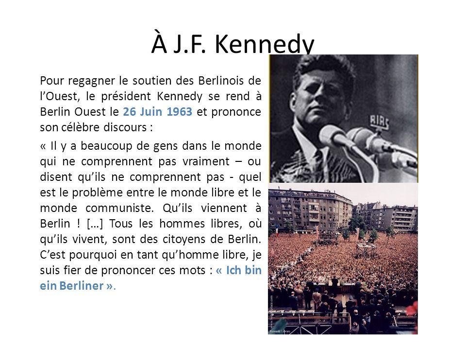 À J.F. Kennedy
