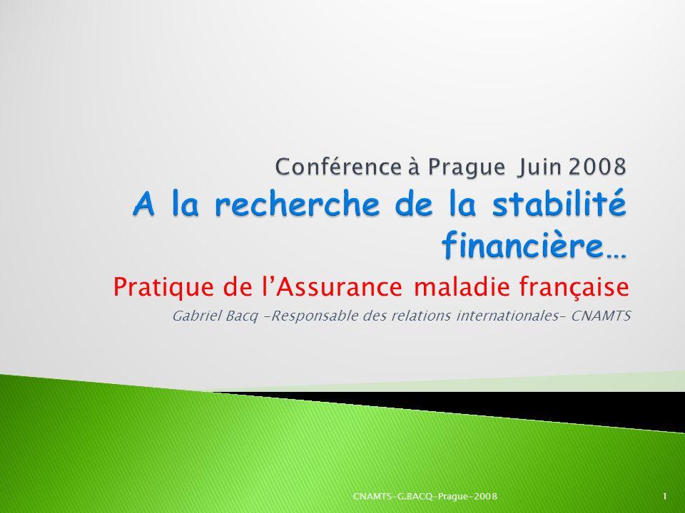 Pratique de l'Assurance maladie française