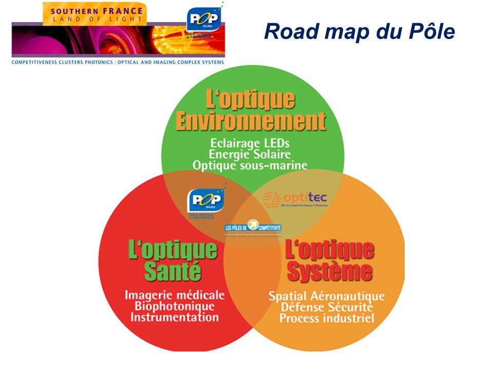 Road map du Pôle