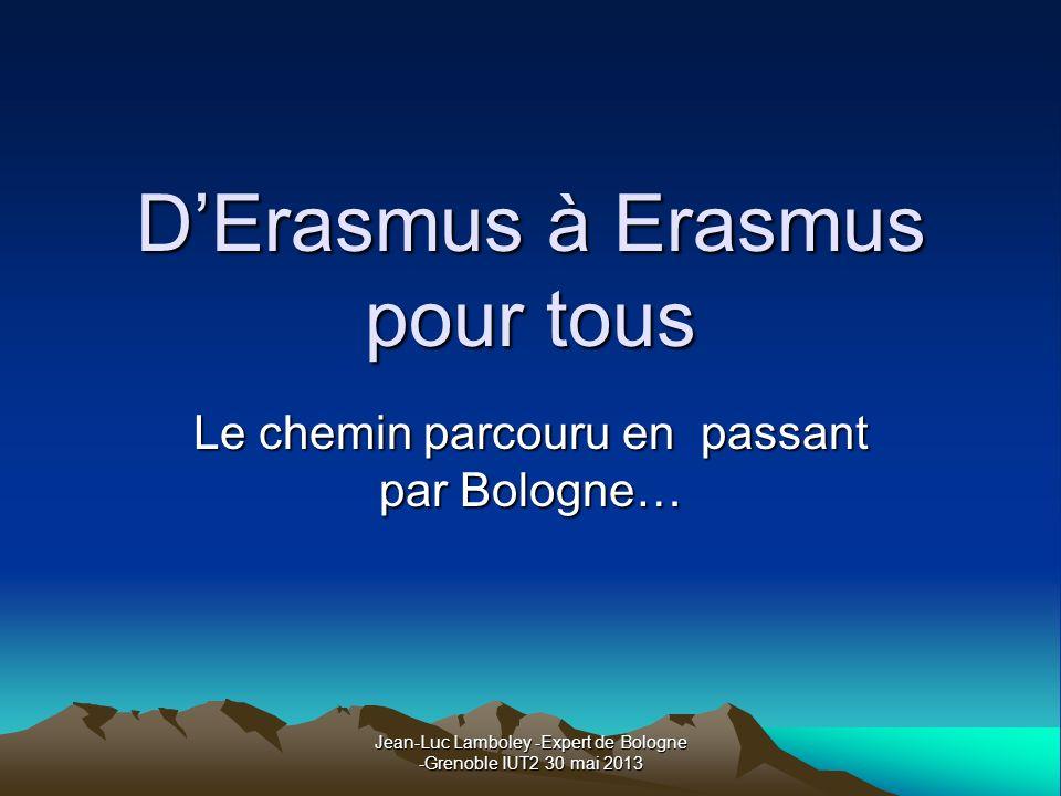 D'Erasmus à Erasmus pour tous