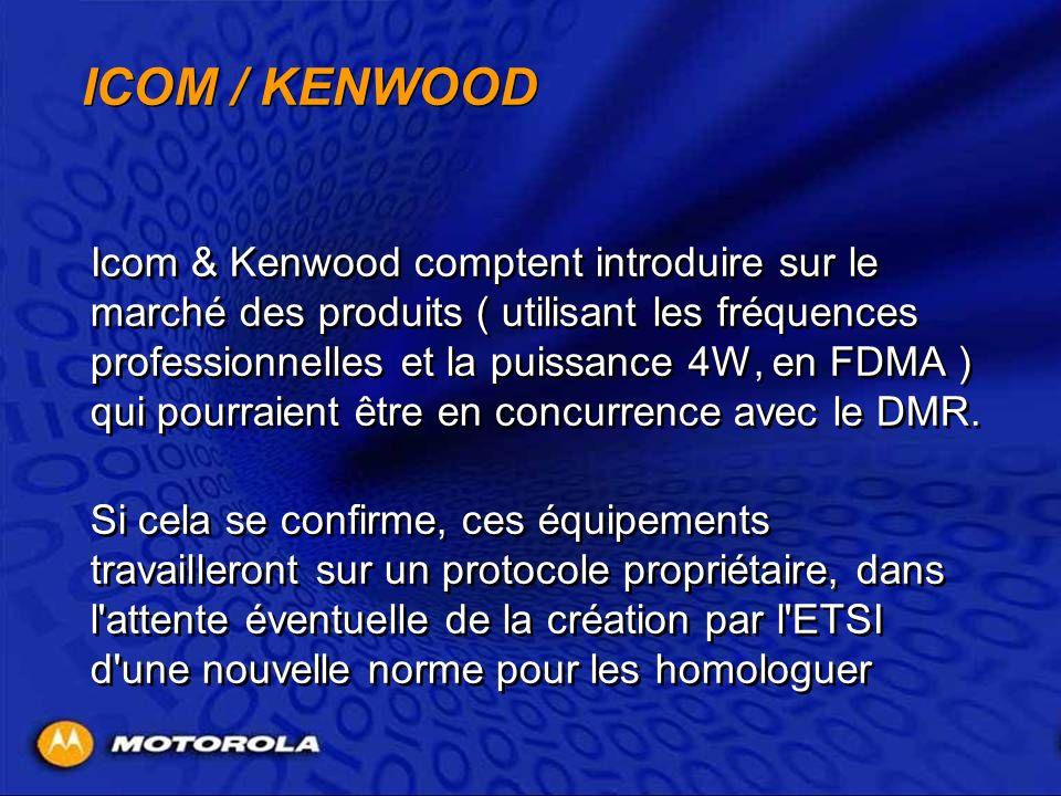 ICOM / KENWOOD