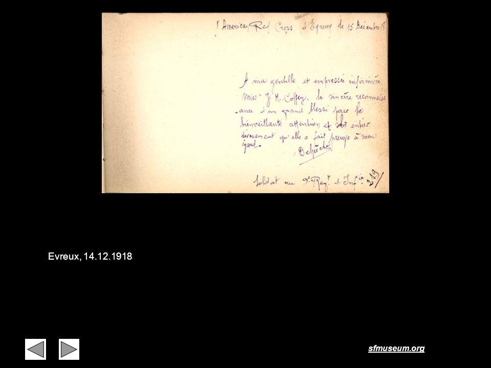 Page 13 Evreux, 14.12.1918