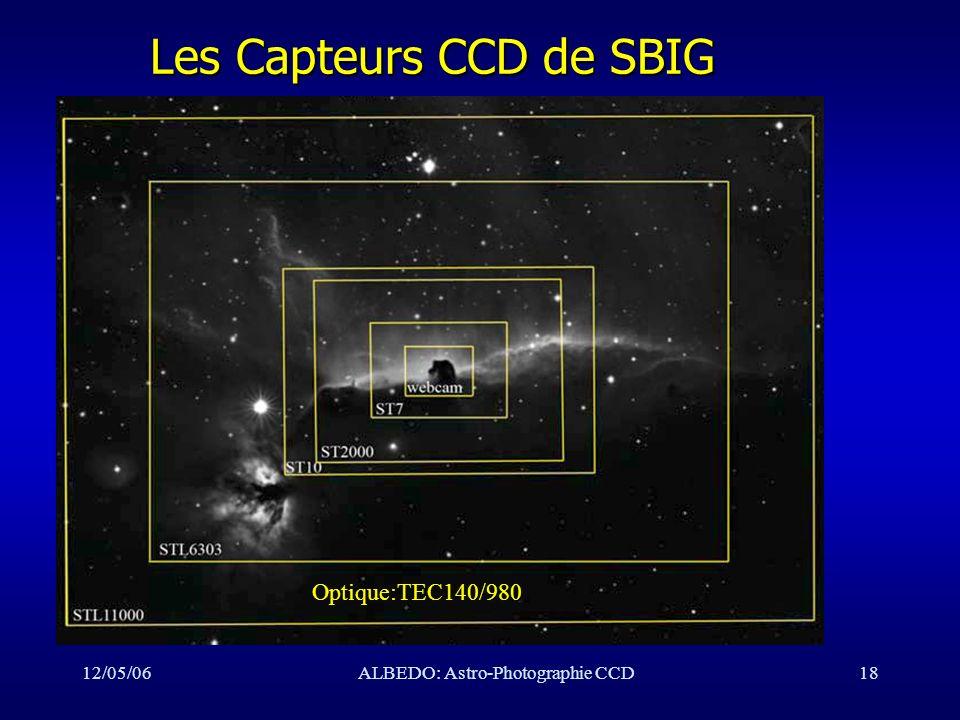 Les Capteurs CCD de SBIG